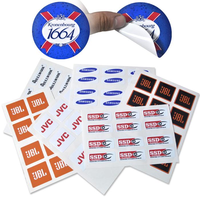 Hadımköy matbaa etiket sticker